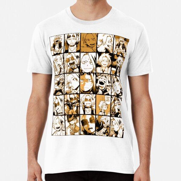 BNHA Kaminari Denki collage Premium T-Shirt