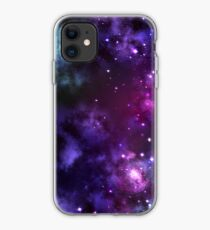 Deep Space Galaxy Lila iPhone & Samsung Handytasche iPhone-Hülle & Cover