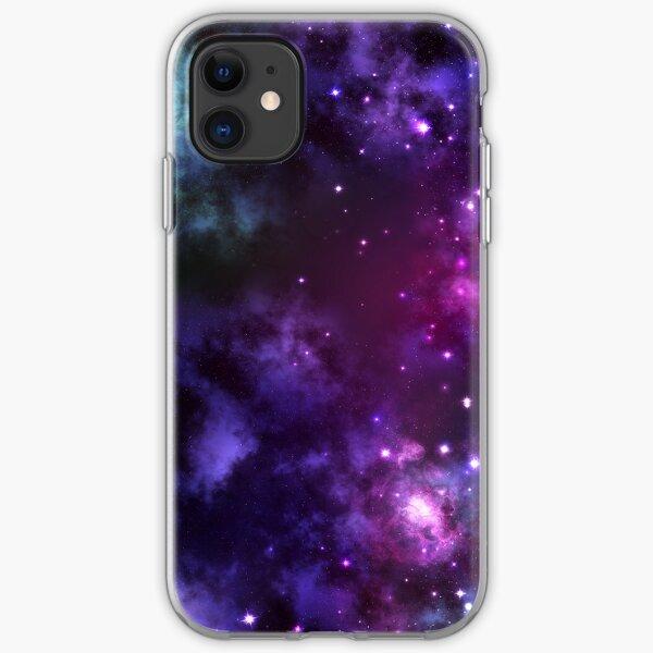Deep Space Galaxy Purple iPhone & Samsung Phone Case iPhone Soft Case