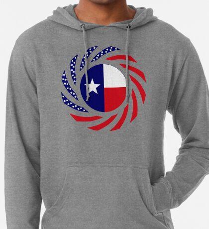 Texan Murican Patriot Flag Series Lightweight Hoodie