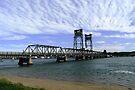 Clyde River Bridge, Batemans Bay. by Trish Meyer