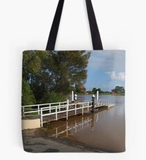 Straight Jetty Tote Bag