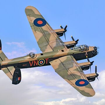 "Avro Lancaster B.1 PA474 VN-T ""Leader"" by oscar533"
