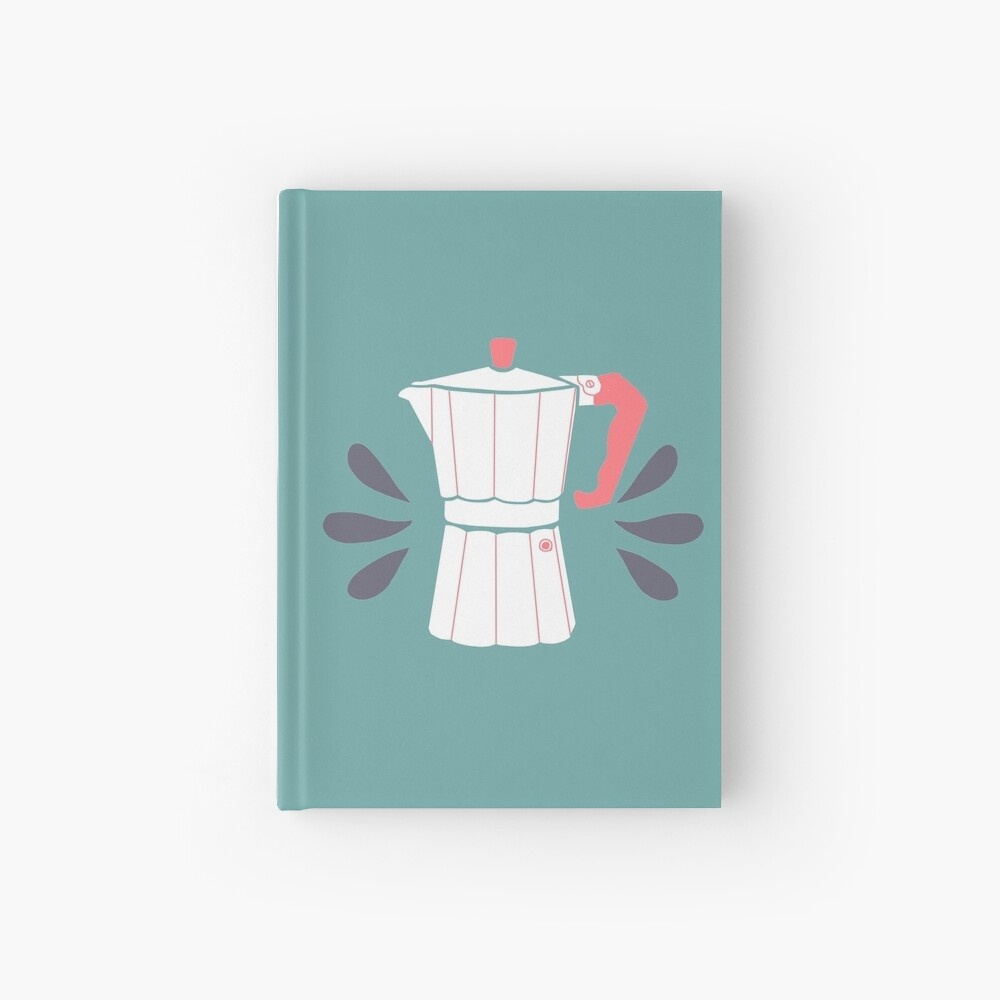 Coffee maker Hardcover Journal