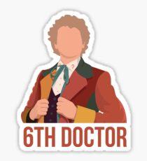 6th Doctor Sticker