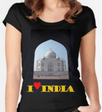 I love India Women's Fitted Scoop T-Shirt