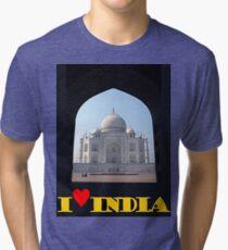 I love India Tri-blend T-Shirt