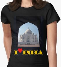 I love India Women's Fitted T-Shirt