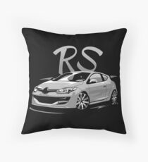 Megane 3 RS & quot; Low Style & quot; Throw Pillow