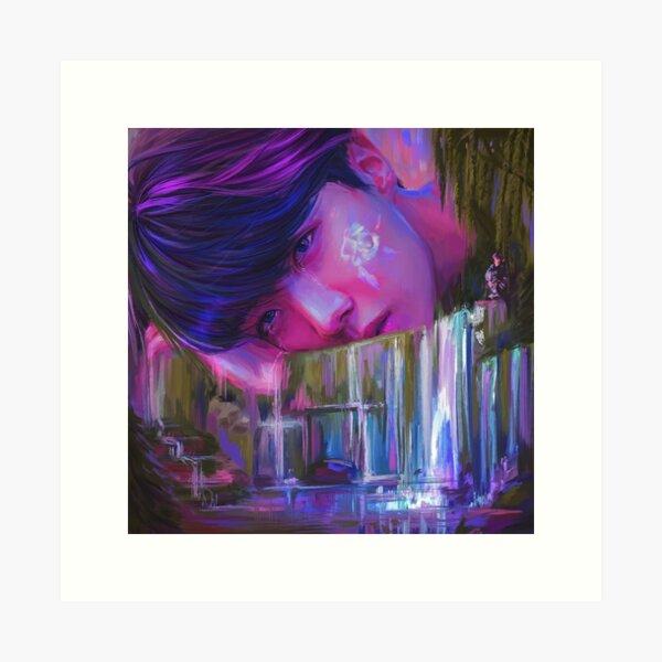 """Tear"" Art Print"