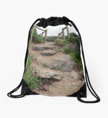 Footpath At Point Peron Drawstring Bag