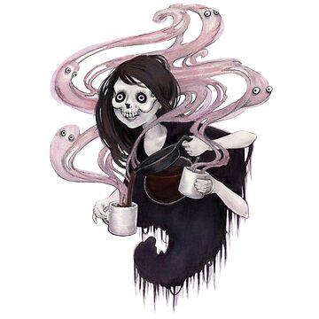 Evangeline's Dark, Dark Roast by jennyfontana