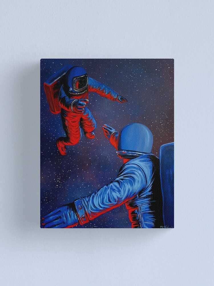 Alternate view of I Think We Need Some Space Canvas Print