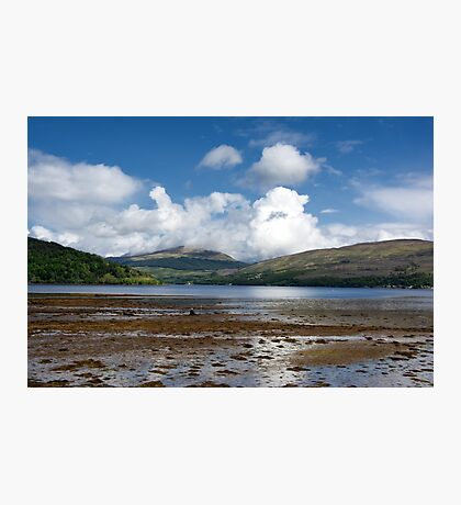 Low Tide on Loch Fyne Photographic Print