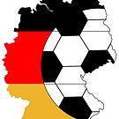 Deutschland-Karte von Stefanie Keller