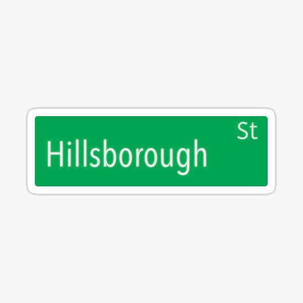 Hillsborough Street Sticker