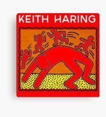 Keith Haring Canvas Print
