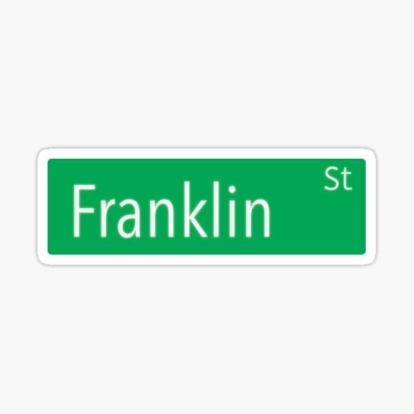 Franklin Street Sticker
