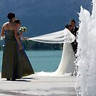 white wedding by Alfred Koch
