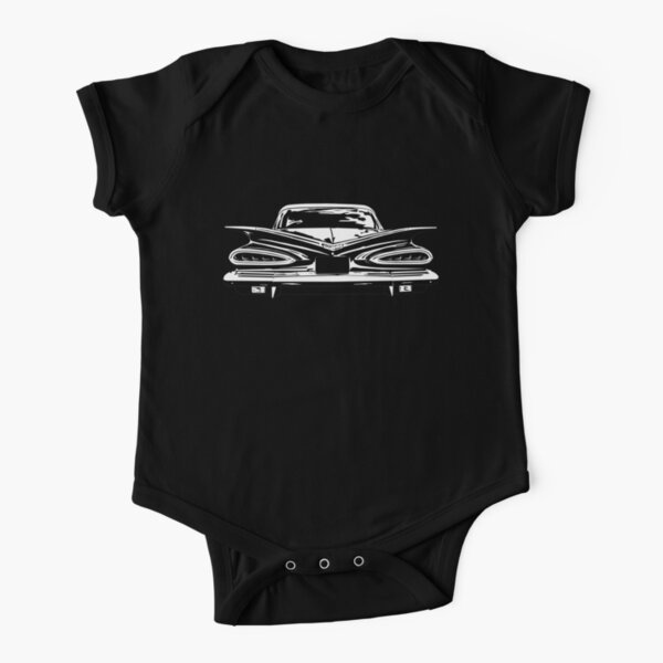 1959 Chevy Belair  Short Sleeve Baby One-Piece