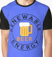 Best Renewable Energy Beer, I love beer Graphic T-Shirt