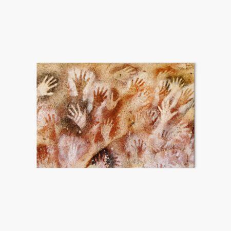 Cave of the Hands - Cueva de las Manos Art Board Print