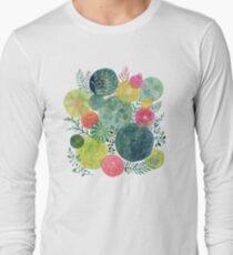 Succulent Circles Long Sleeve T-Shirt