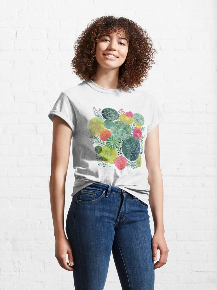 Alternate view of Succulent Circles Classic T-Shirt