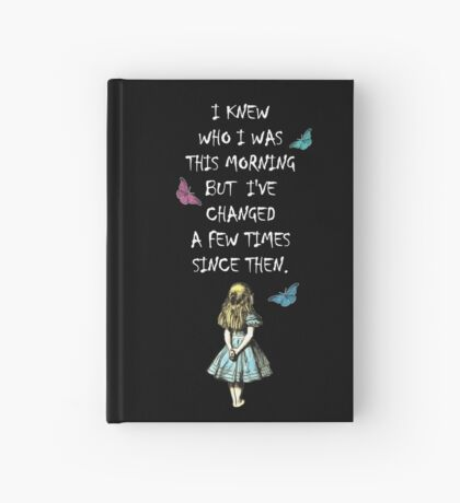 Cita Alicia en el país de las maravillas Cuaderno de tapa dura