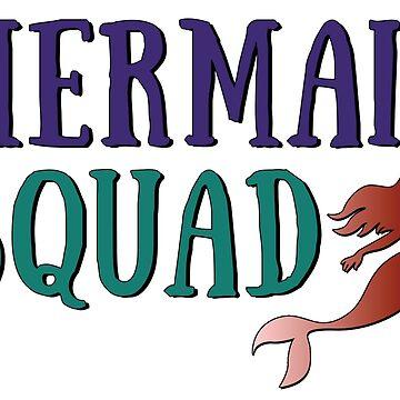 Mermaid Squad by artshapedbox