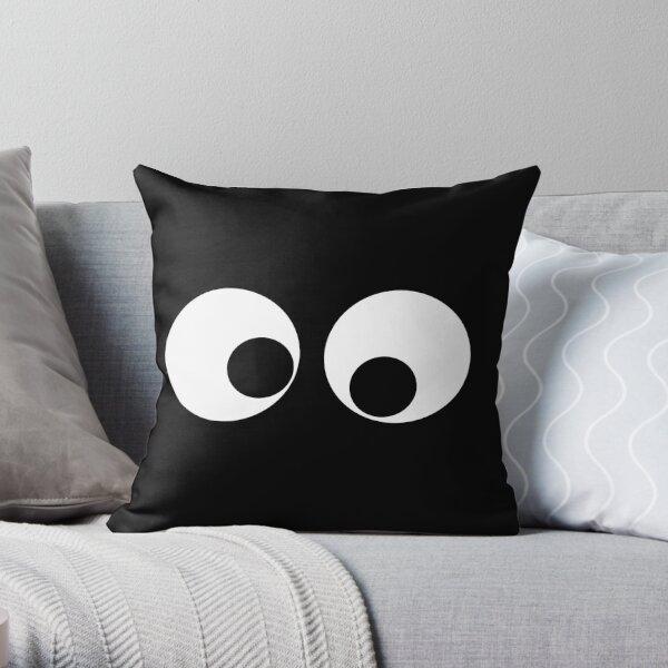 Googly Eyes Throw Pillow