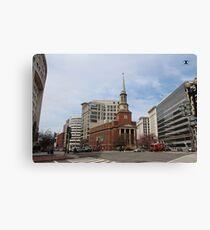 The New York Avenue Presbyterian Church Canvas Print