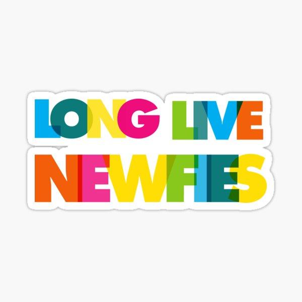 Long Live Newfies Sticker