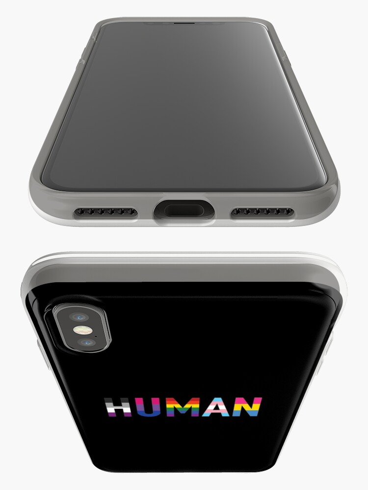Alternate view of Human, LGBT+ iPhone Cases & Covers
