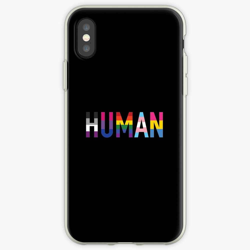 Human, LGBT+ iPhone Case & Cover