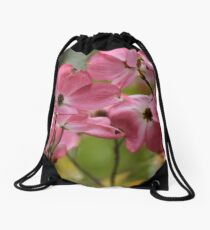 Dancing in the wind _ Red Dogwood! Drawstring Bag