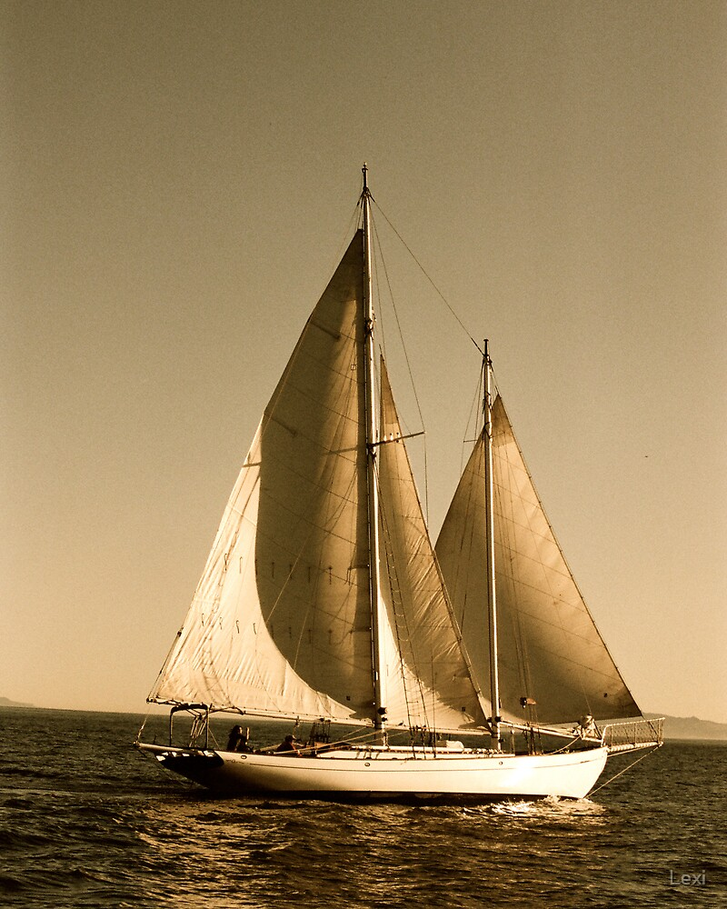 Schooner Late Afternoon by Lexi