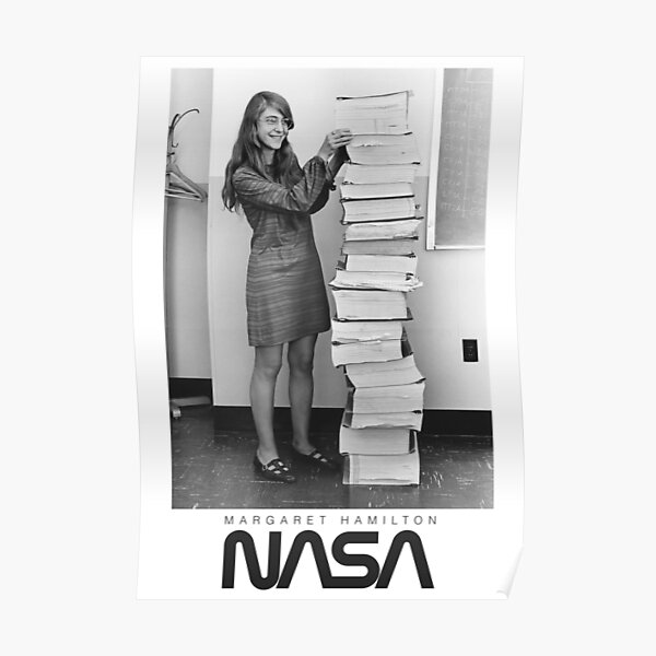 Nasa hero Margaret Hamilton Poster