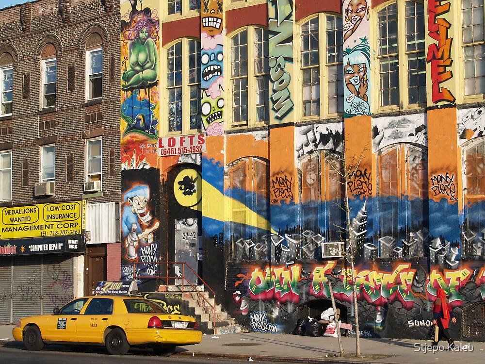 NYC, Jackson Av. L.I.C. by Stjepo Kaleb