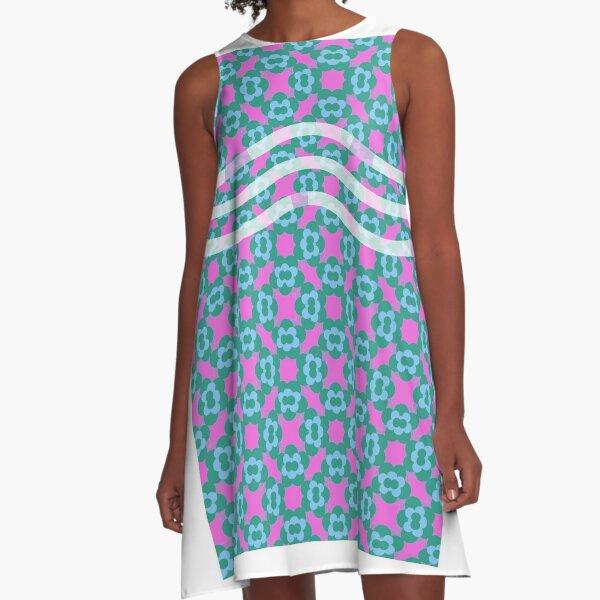 Floral pattern  A-Line Dress