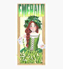 Emerald  Photographic Print