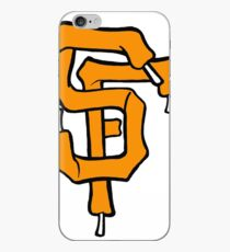 SF Giant Laces iPhone Case