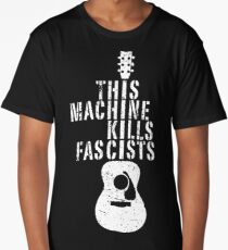 This Machine Kills Fascists Long T-Shirt