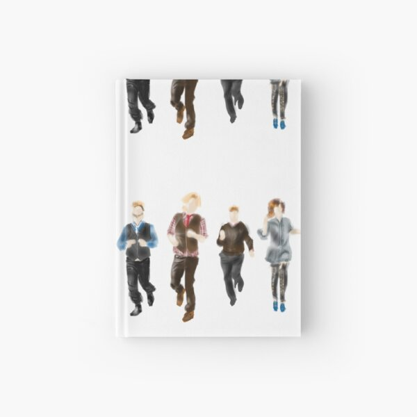 Five People Running Where?  Hardcover Journal