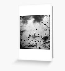 Doomsday (for black) Greeting Card