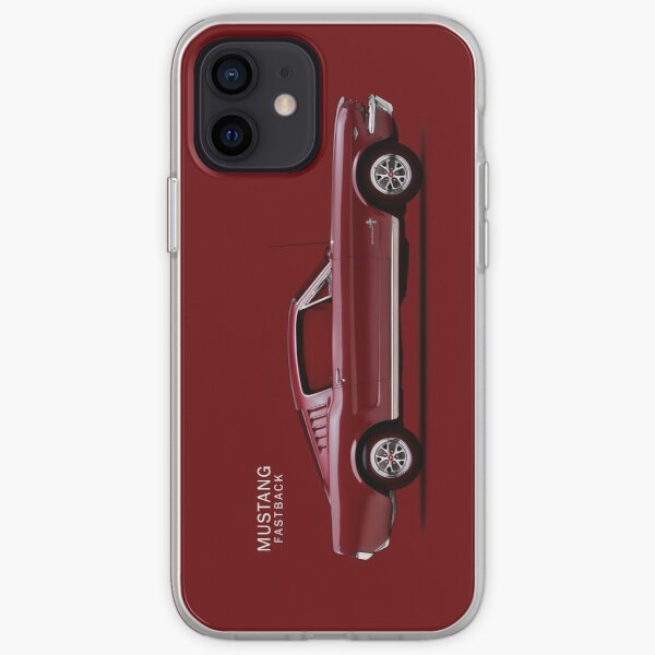 Mustang Fastback iPhone Soft Case