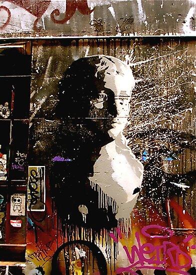 Graffiti Bust by Louise Fahy