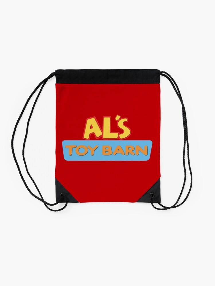 Alternate View Of Als Toy Barn Drawstring Bag