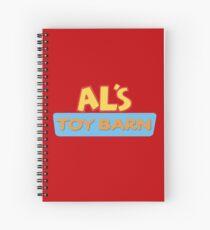 Al's Toy Barn Spiral Notebook