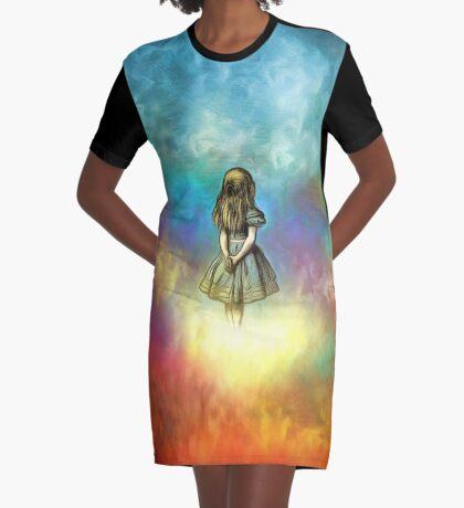 Wonderland Time - Alicia en el país de las maravillas Vestido camiseta